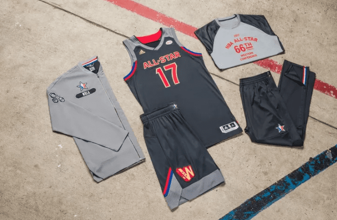Nba News: Jerseys Unveiled For 2017 All-star Game At Smoothie King Center