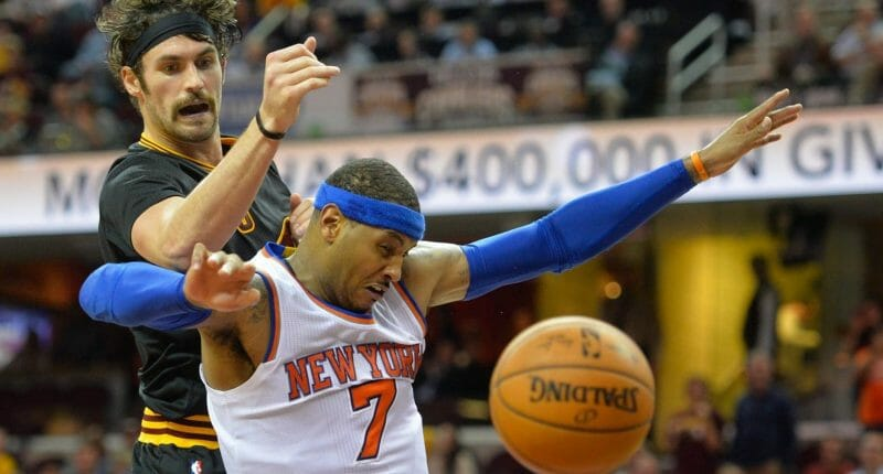 Nba Rumors: Knicks Approached Cavaliers About Carmelo Anthony-kevin Love Trade