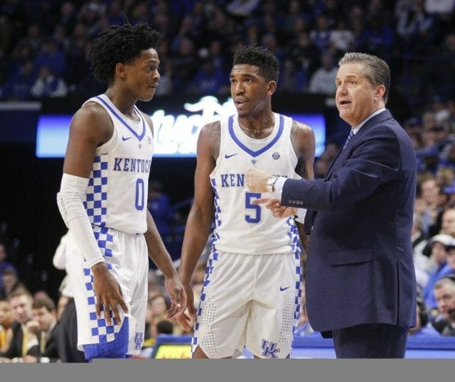Lakers News: L.a. Sends Two Representatives To Kansas-kentucky Showdown