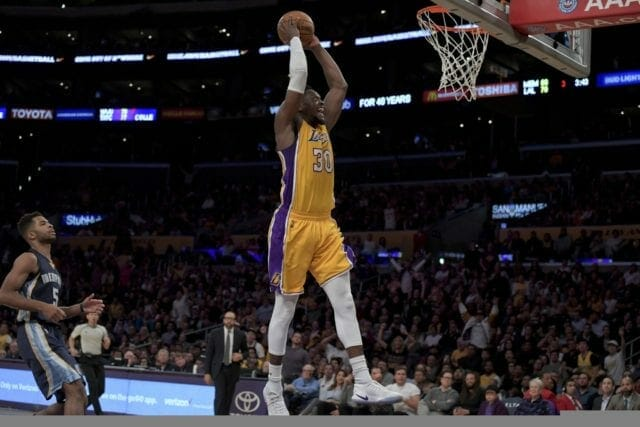 Game Recap: Julius Randle's Triple-double Leads Lakers Shoot To Win Over Grizzlies