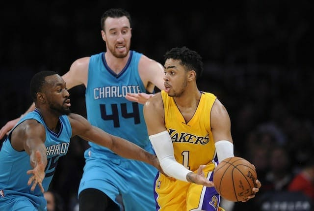 Game Recap: Lakers Fall To Hornets Despite Strong Night From D'angelo Russell, Julius Randle