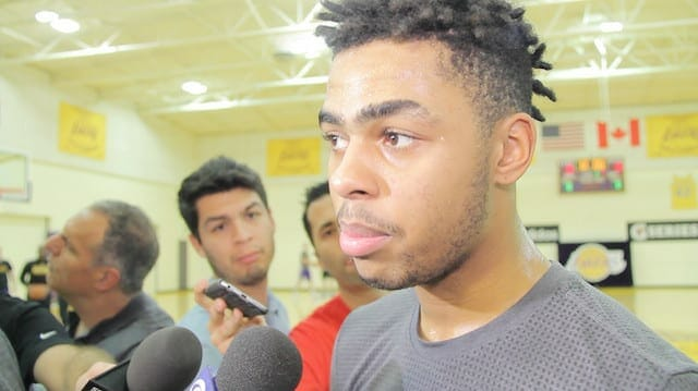 D'angelo Russell Using All-star Weekend To Send A Message