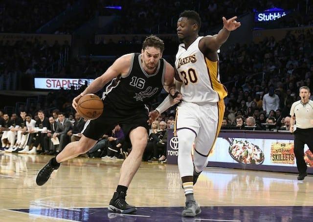 Game Recap: Brandon Ingram Sets Career High Despite Lakers 119-98 Loss To San Antonio Spurs