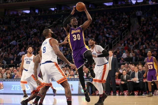 Game Recap: Lakers Defeat Knicks At Madison Square Garden 121-107, Win First Road Game Since Dec. 16