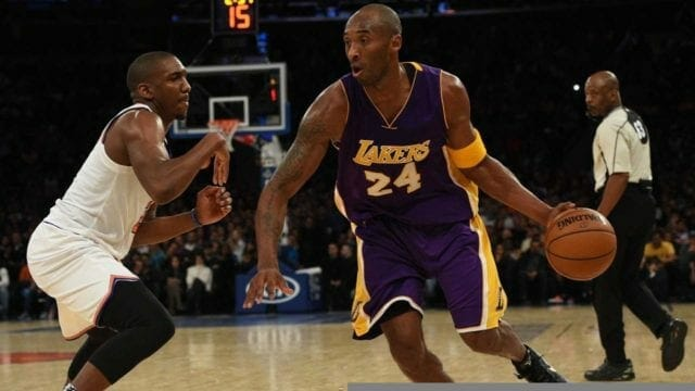 Throwback Thursday: Kobe Bryant Sets Msg Record With 61 Points