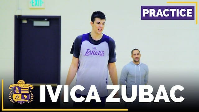 Quick Look: Los Angeles Lakers Rookie Ivica Zubac (video)
