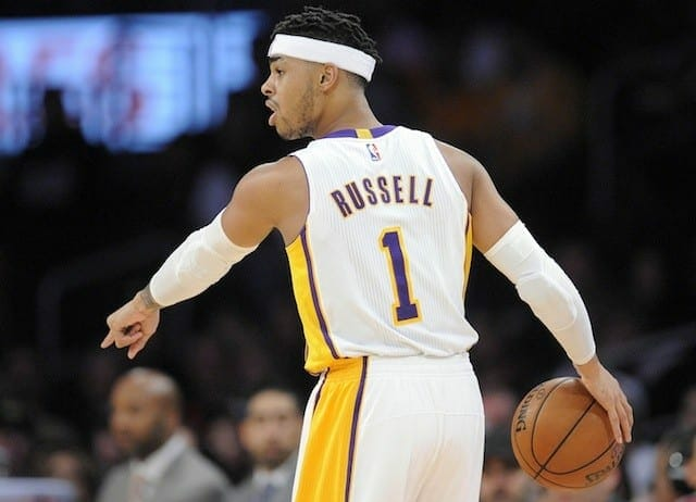 Lakers News: D'angelo Russell Feels Like He's 'playing At A High Level'