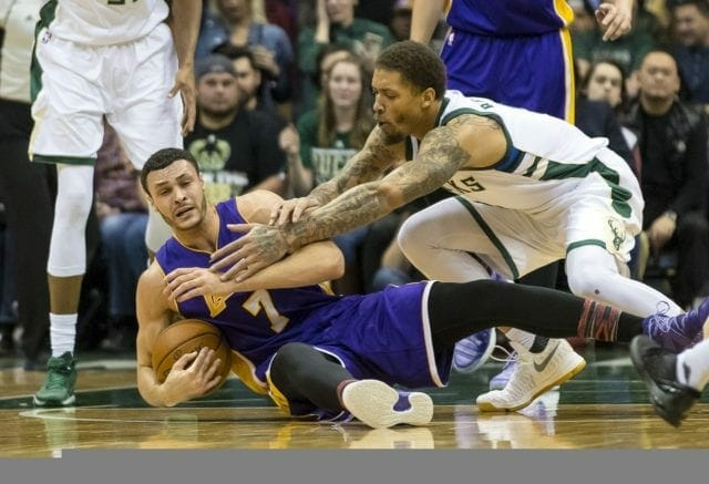 Lakers News: Larry Nance Jr. Alludes To 'beautiful Basketball' During First Half Vs. Bucks
