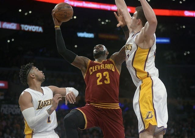 Game Recap: D'angelo Russell's Career Night Not Enough As Lakers Fall To Cavaliers