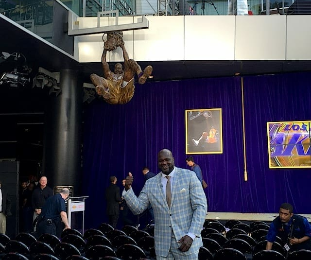 Videos: Shaquille O'neal's Statue Unveiling, Kobe Bryant, Phil Jackson & More