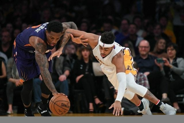 Los Angeles Lakers Hit Bottom In The Western Conference