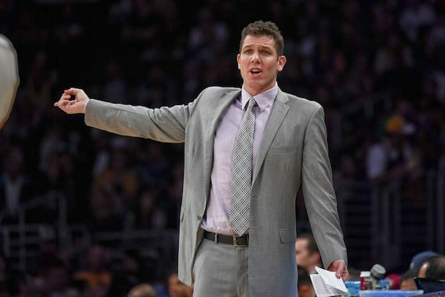 Luke Walton: Lakers Must Focus On Defense To Get Offense Going