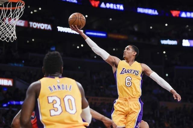 "Lakers News: Luke Walton Praises ""brilliant"" Performance By D'angelo Russell"