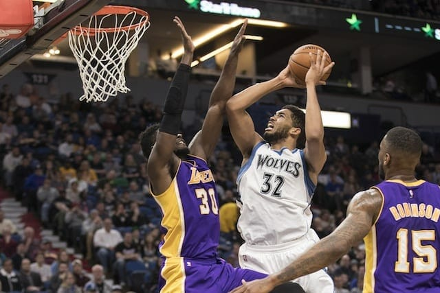 Three Takeaways From Lakers Loss To The Timberwolves