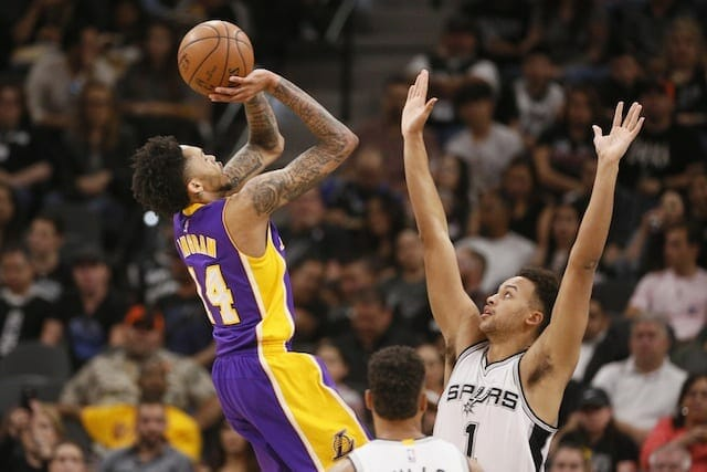 Game Recap: Tyler Ennis' Career Night Paves Way For Lakers Win Over Spurs