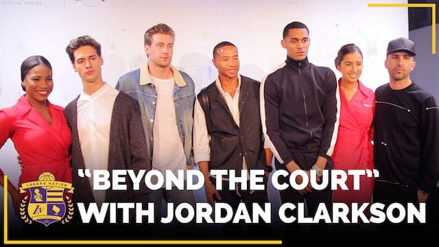 Beyond The Court With Lakers Guard Jordan Clarkson: Fashion Edition