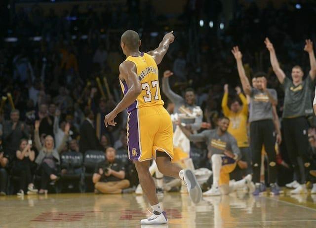 Magic Johnson Informs Metta World Peace Lakers Probably Won't Bring Him Back Next Season