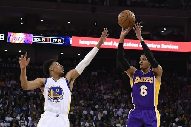 Game Recap: Lakers Get Blown Out By Warriors In Season Finale