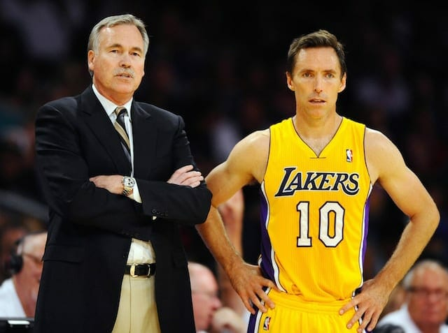 Steve Nash Believes Mike D'antoni Didn't Have A Chance With Lakers