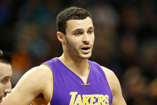 Lakers News: Larry Nance Jr. Plans To Take 'son' Ivica Zubac To Soccer Game