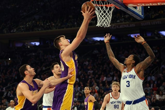 Handing Out End Of Season Awards For The Los Angeles Lakers
