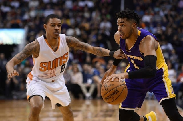 Lakers Podcast: Breaking Down Both Sides Of The Lakers V. Suns Tank Race