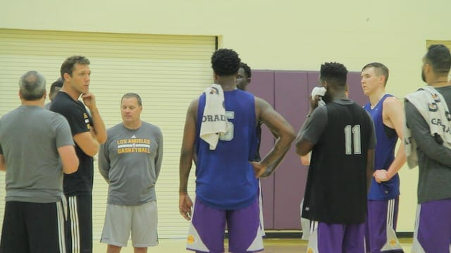 Lakers Draft Workouts: Allen, Artis, Djitte, Frazier, Hawkinson, Peak