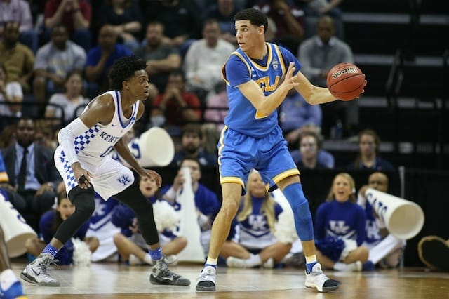 Lavar Ball: Lonzo 'ain't Scared' Of 1-on-1 Lakers Draft Workout With De'aaron Fox