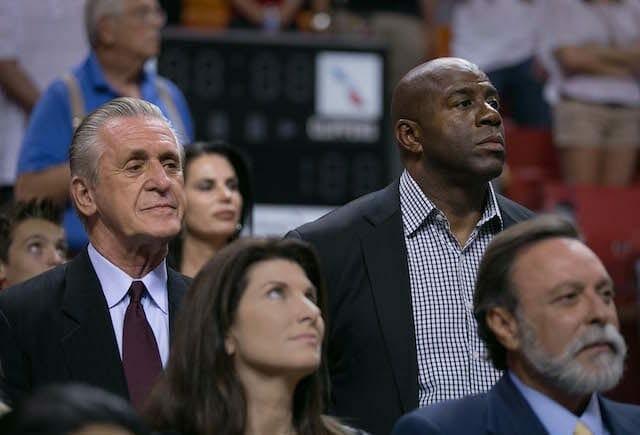 Lakers News: Magic Johnson Taking Advice From Pat Riley