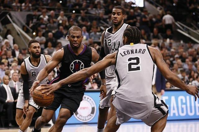 Nba Rumors: Mutual Interest Between Chris Paul, San Antonio Spurs?