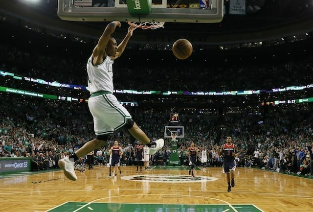 Nba Playoff Highlights: Avery Bradley Leads Celtics Past Wizards For Game 5 Win