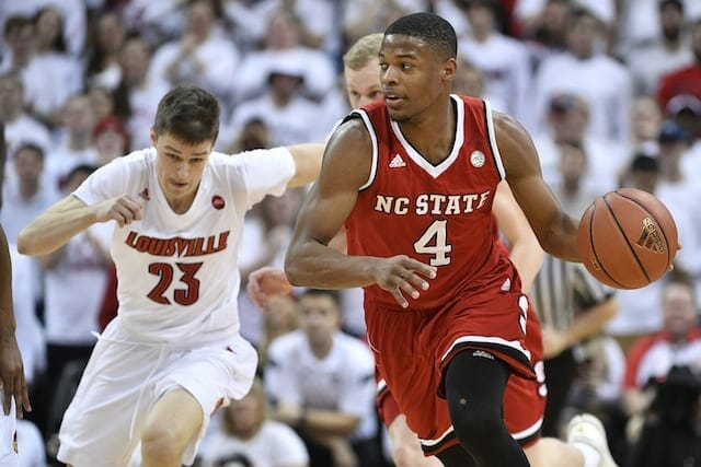 Lakers Draft News: L.a. Plans To Work Out Nc State's Dennis Smith