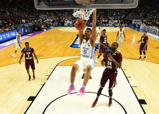 Lakers Draft News: L.a. To Work Out North Carolina's Tony Bradley
