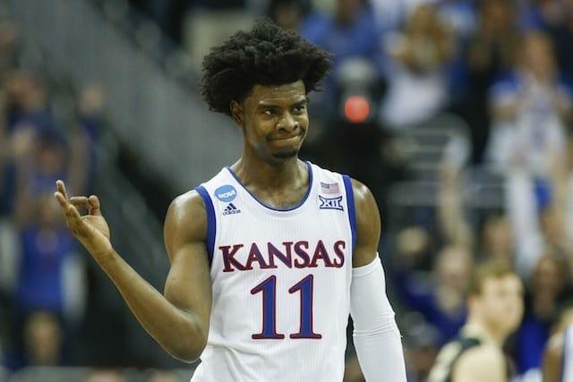 Lakers Nation Nba Draft Profiles: Josh Jackson, Kansas