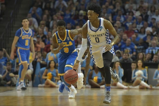 The Case For The Lakers Drafting De'aaron Fox