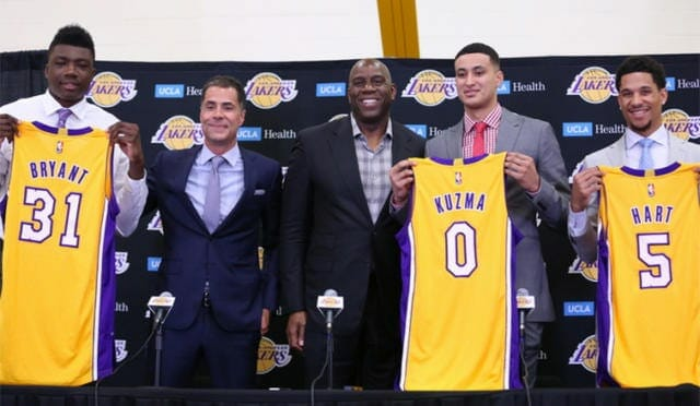 Magic Johnson On Lakers Rookies: 'they Love To Compete'