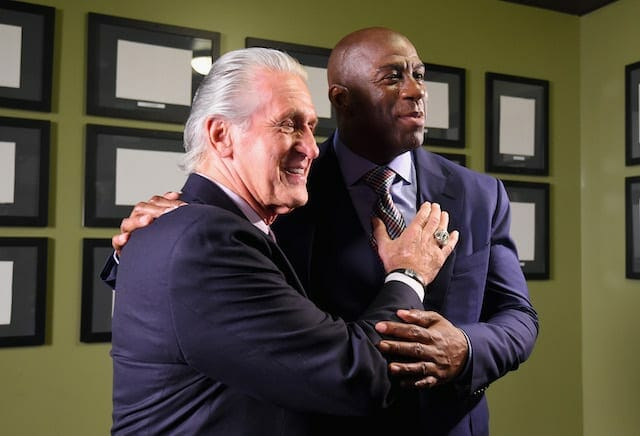 Lakers News: Pat Riley Says Magic Johnson Is Greatest Ever, Would Beat Lebron James 1-on-1