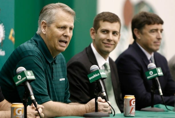 Boston Celtics Fielding Trade Calls For First Overall Pick In Nba Draft