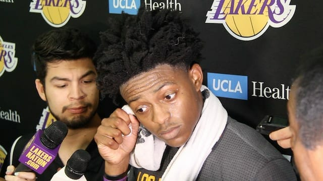 De'aaron Fox's Interview With The L.a. Media After Lakers Workout (video & Transcript)