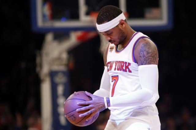 Nba Rumors: Carmelo Anthony Prefers To Stay Close To Family Amidst Knicks Troubles