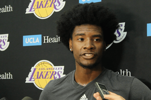Josh Jackson's Interview With The L.a. Media After His Workout (video & Transcript)