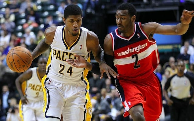 All-star Point Guard John Wall Recruiting Paul George To Join Wizards