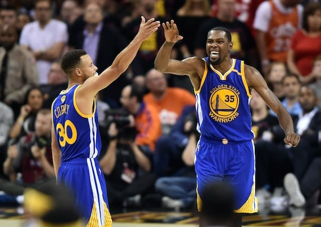Nba Finals Highlights: Kevin Durant Sinks Late Three To Give Warriors 3-0 Lead