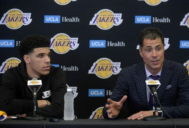 """Can Lakers Pg Lonzo Ball Be """"transcendent"""" As A Rookie?"""