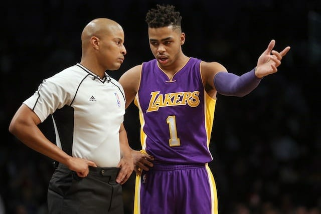 Former Laker D'angelo Russell Received With 'lots Of Boos' At Barclays Center For Big3 Opener