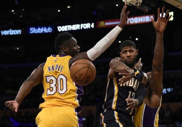 Lakers Rumors: L.a. Doesn't 'currently Intend' To Trade Young Assets In Deal For Paul George