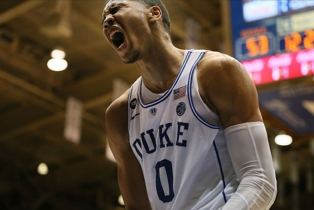 Lakers Draft Rumors: L.a. Finalizing Workout With Duke's Jayson Tatum