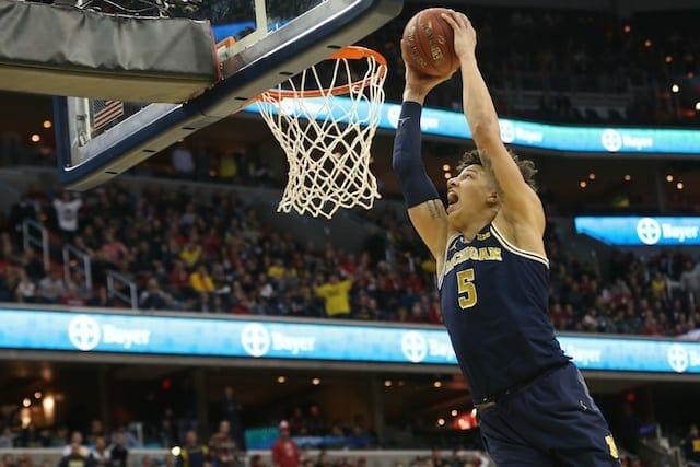 Lakers Draft Rumors: L.a. 'high' On Michigan Big Man D.j. Wilson
