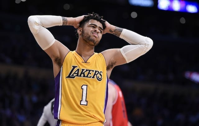 Lakers News: Lonzo Ball Reacts To D'angelo Russell Trade
