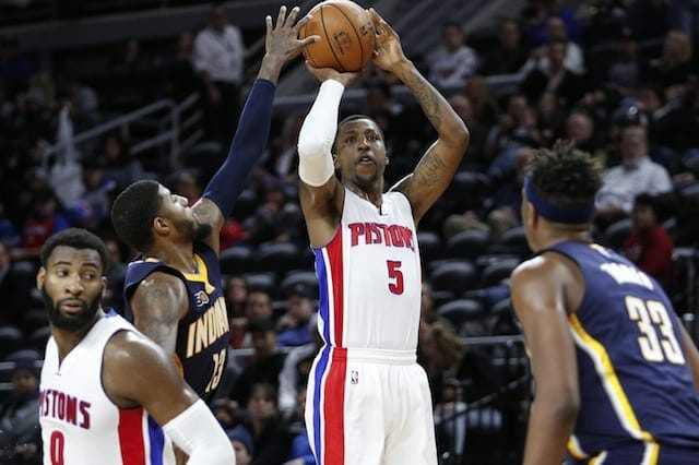 Lakers Video: Kentavious Caldwell-pope Puts On Shooting Exhibition At Practice Facility